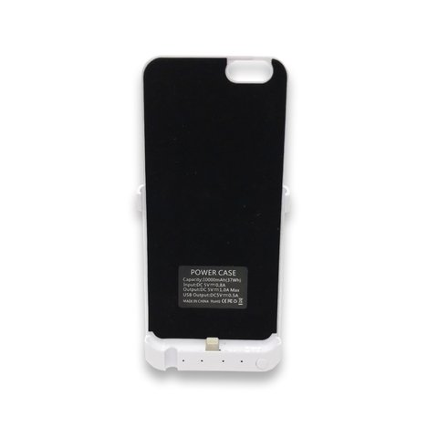 Funda Cargador Iphone 6 - Blanco + Nano Coating Liquid