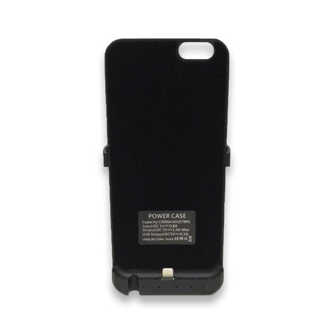 Funda Cargador Iphone 6 - Negro + Nano Coating Liquid