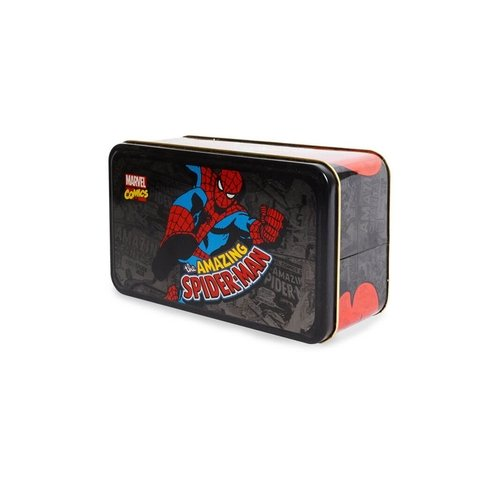 Lata Rectangular Spider Man