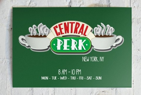 Cuadro Friends Central Perk Horizontal - comprar online