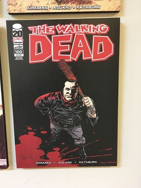 Cuadro The Walking Dead Comic 4 - comprar online