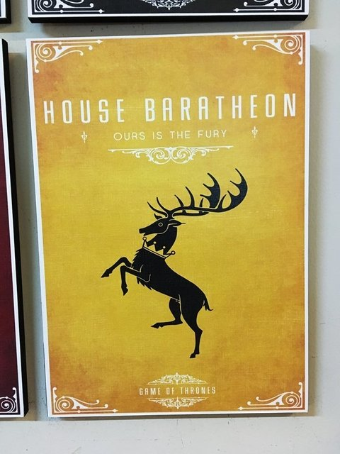 Cuadro Game of Thrones Casa Baratheon - comprar online