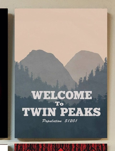Cuadro Twin Peaks 2 Welcome to Twin Peaks - comprar online