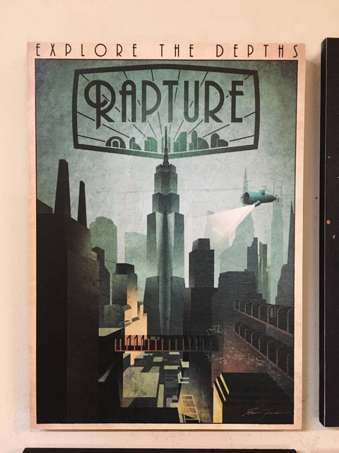 Cuadro Bioshock Welcome to Rapture - comprar online