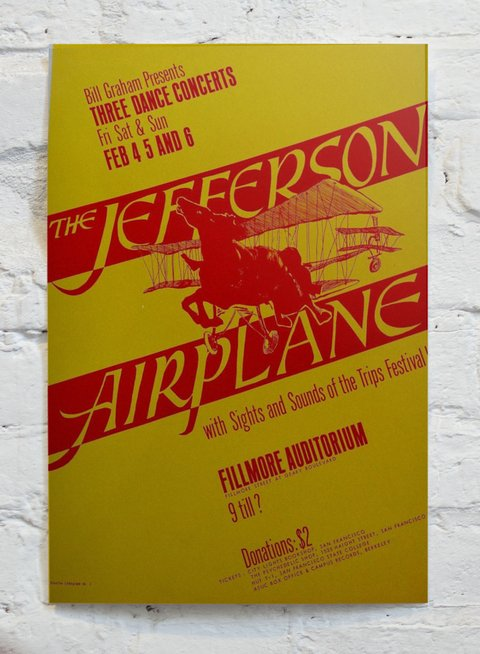 Cuadro Jefferson Airplane