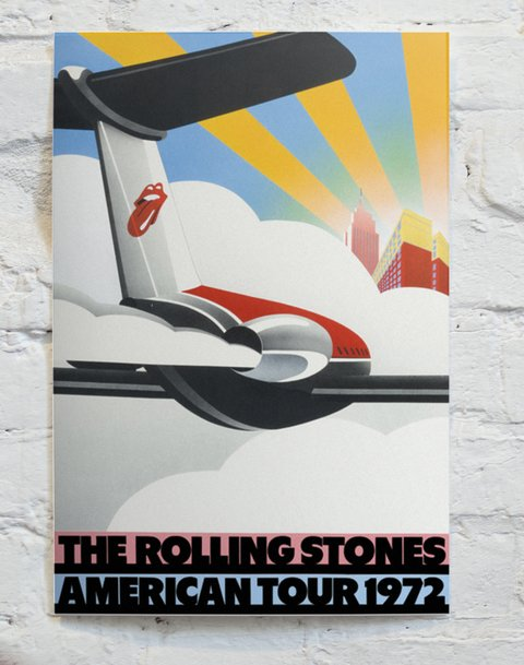 The Rolling Stones Tour 1972 CA10