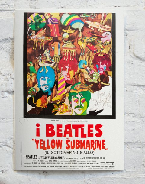Cuadro The Beatles Yellow Submarine CA13