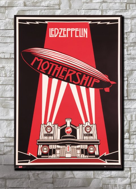 Cuadro Led Zeppelin Mothership CA22