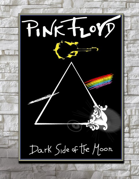 Cuadro Pink Floyd Dark Side of the Moon CA27