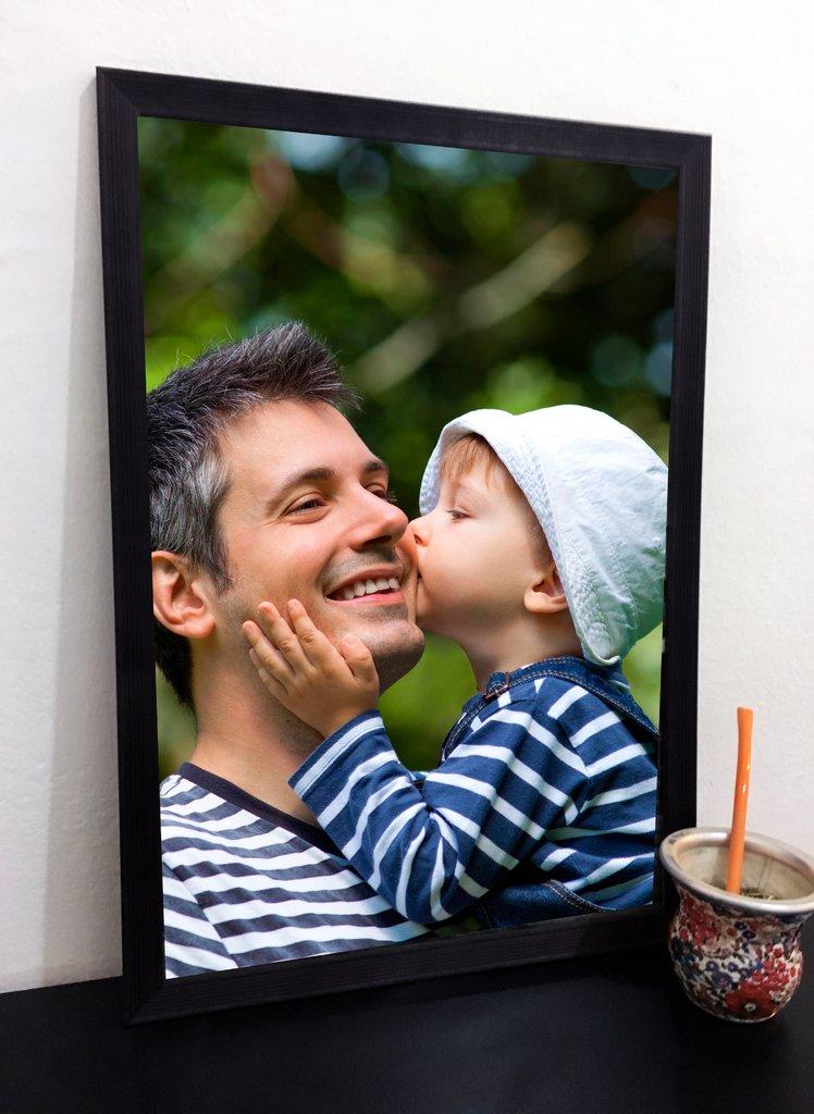 Cuadro con marco personalizado - Día del Padre