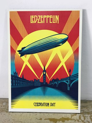 Cuadro Led Zeppelin Celebration CA20 - comprar online