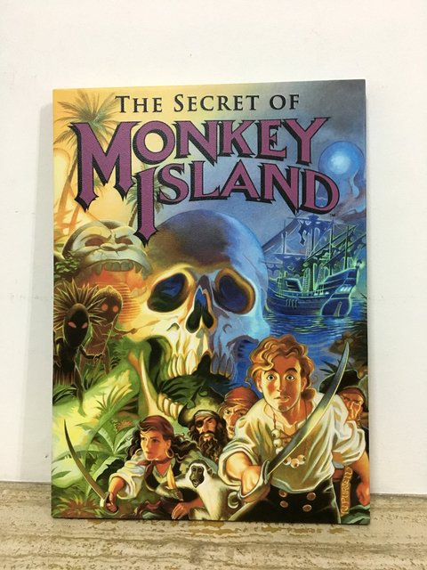 Cuadro The Secret of Monkey Island