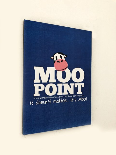 Cuadro Friends -  Moo point - comprar online