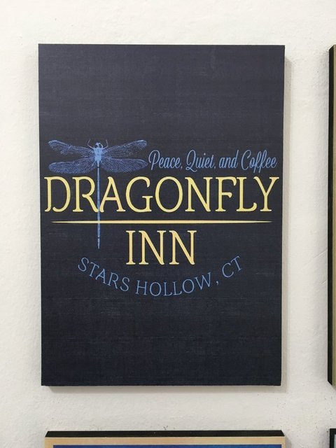 Cuadro Gilmore Girls Dragonfly Inn
