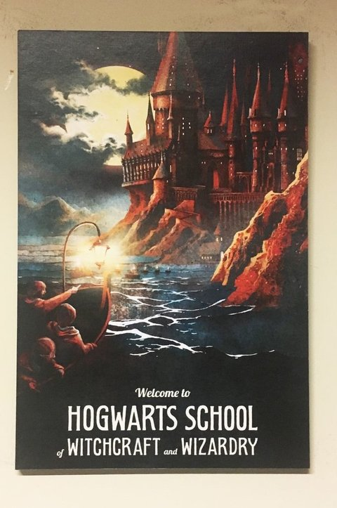 Cuadro Harry Potter Hogwarts School