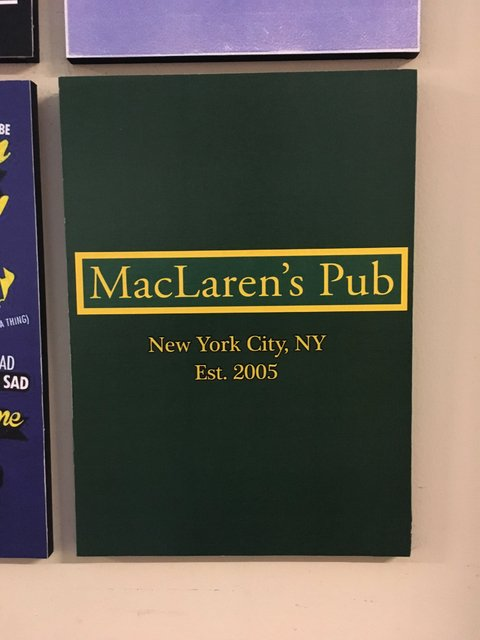 Cuadro How I met your mother Mac Laren's Pub - comprar online