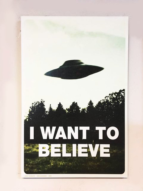 Cuadro Expediente X 01 - I want to believe - comprar online