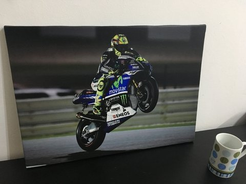 Cuadro Valentino Rossi Willy - comprar online