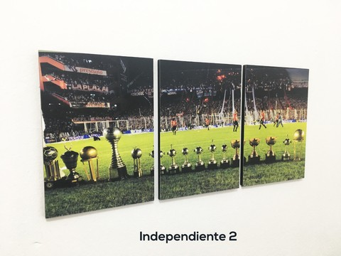 Cuadros - Triptico Independiente 2