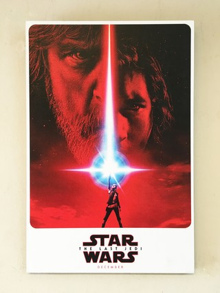 Cuadro Star Wars Episodio VIII: The Last Jedi Teaser Poster - Deco Delorean