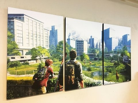 Cuadros - Tríptico The Last of Us - comprar online