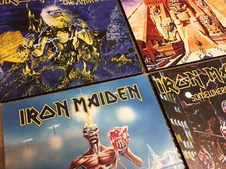 Cuadro Iron Maiden Seventh Son of a Seventh Son - comprar online