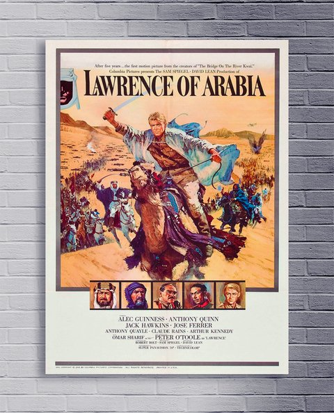 Cuadro Lawrence of Arabia 1963