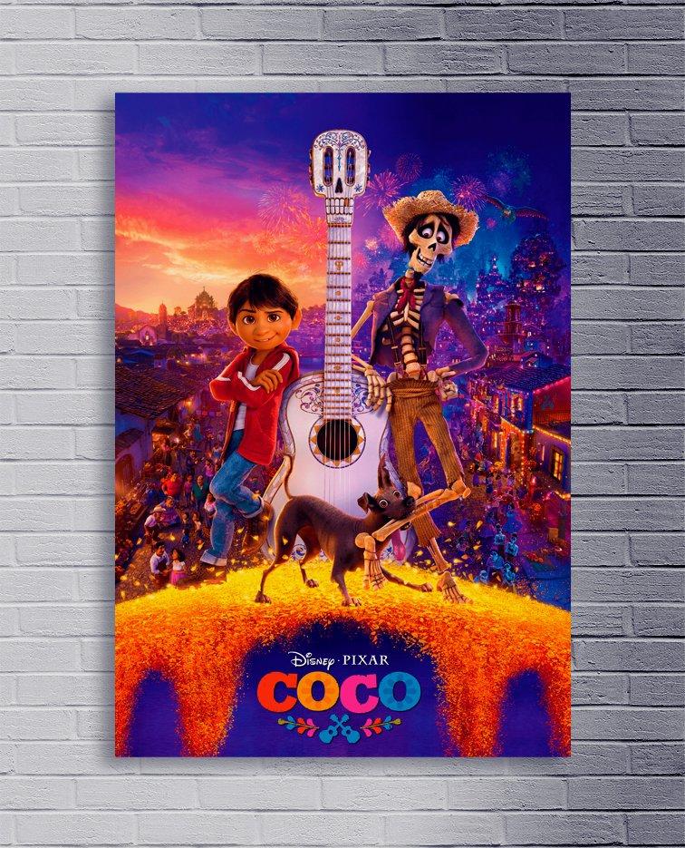 Cuadro Coco Disney 010 - Comprar en Delorean Art