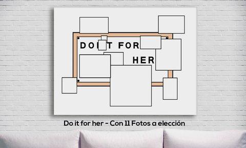 Cuadro los simpsons do it for her personalizado con 11 - Cuadros fotos personalizados ...