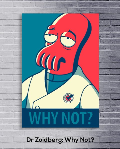 Cuadro Dr Zoidberg: Why Not? - comprar online