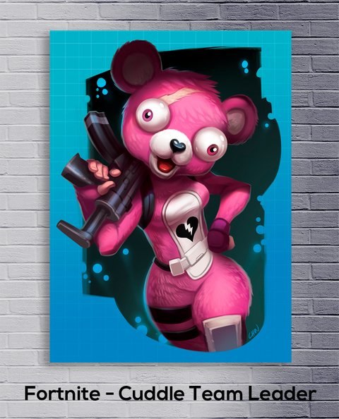 Cuadro Fortnite - Cuddle Team Leader - comprar online