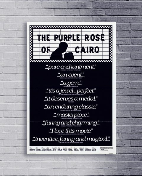 Cuadro Woody The Purple Rose of Cairo - comprar online