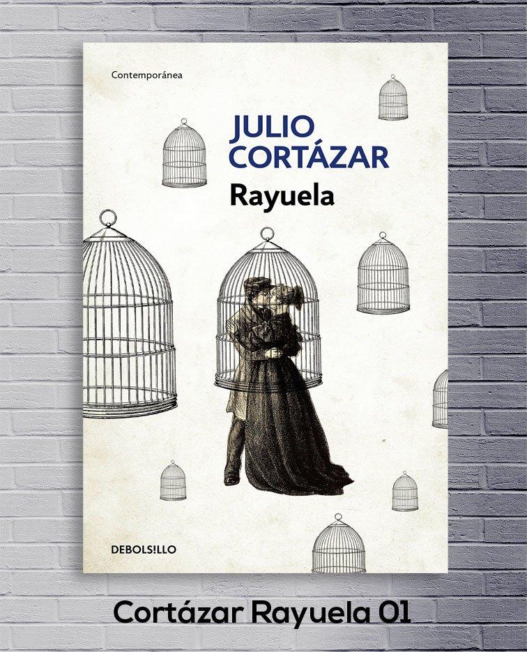 Cuadro Cortázar Rayuela 01 Comprar En Deco Delorean