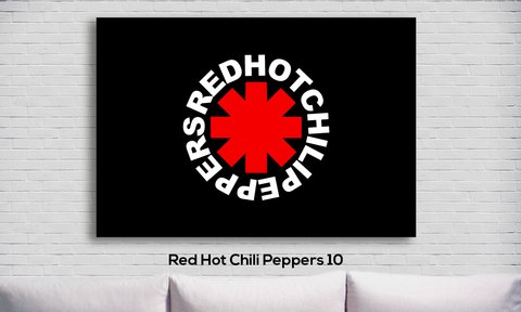 Cuadro Red Hot Chili Peppers 10 - comprar online