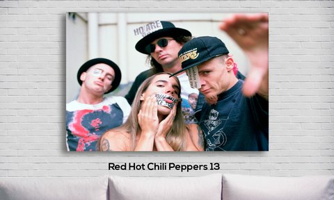 Cuadro Red Hot Chili Peppers 13 - comprar online