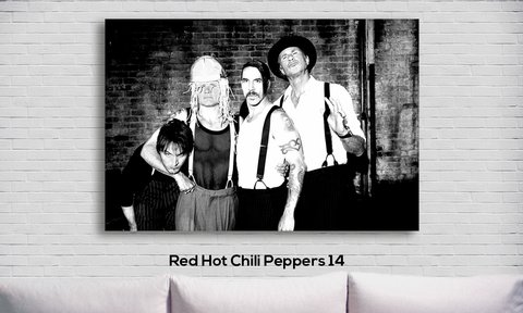 Cuadro Red Hot Chili Peppers 14 - comprar online