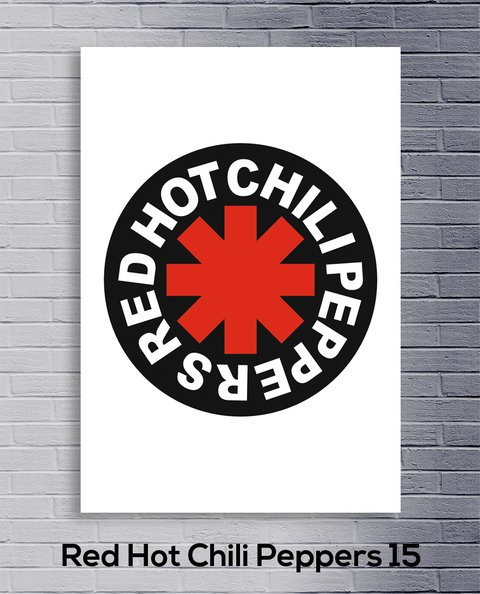 Cuadro Red Hot Chili Peppers 15 - comprar online