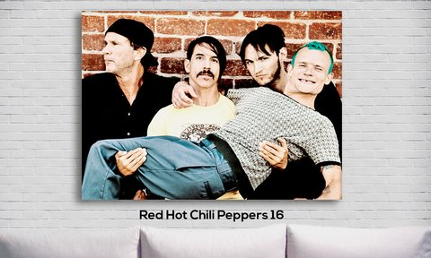 Cuadro Red Hot Chili Peppers 16 - comprar online