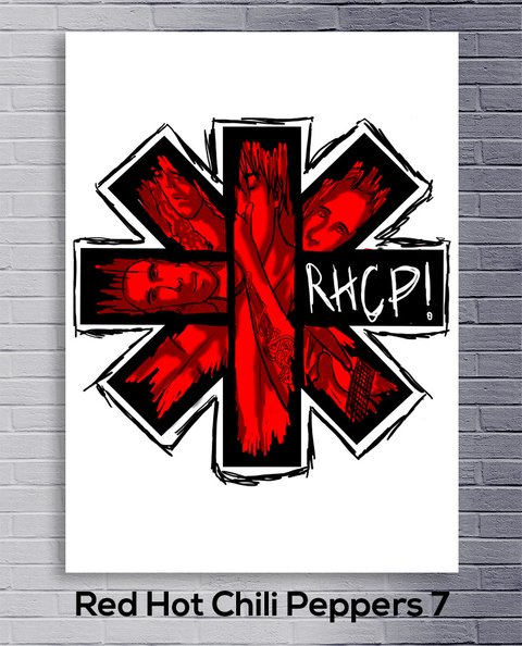 Cuadro Red Hot Chili Peppers 7 - comprar online