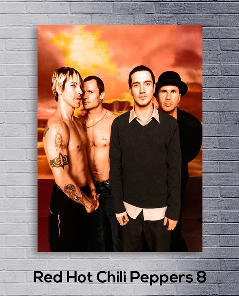 Cuadro Red Hot Chili Peppers 8 - comprar online