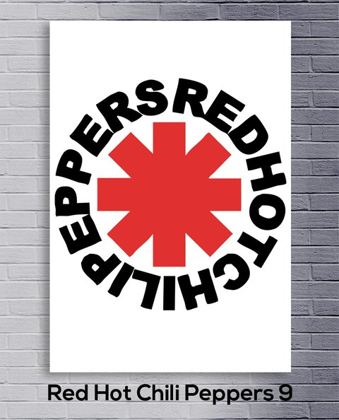 Cuadro Red Hot Chili Peppers 9 - comprar online