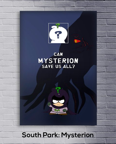 Cuadro South Park: Mysterion - comprar online