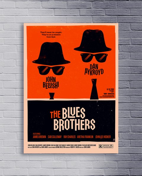 Cuadro The Blues Brothers - comprar online