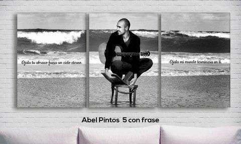 Cuadros Triptico Abel Pintos 5 Con Frase