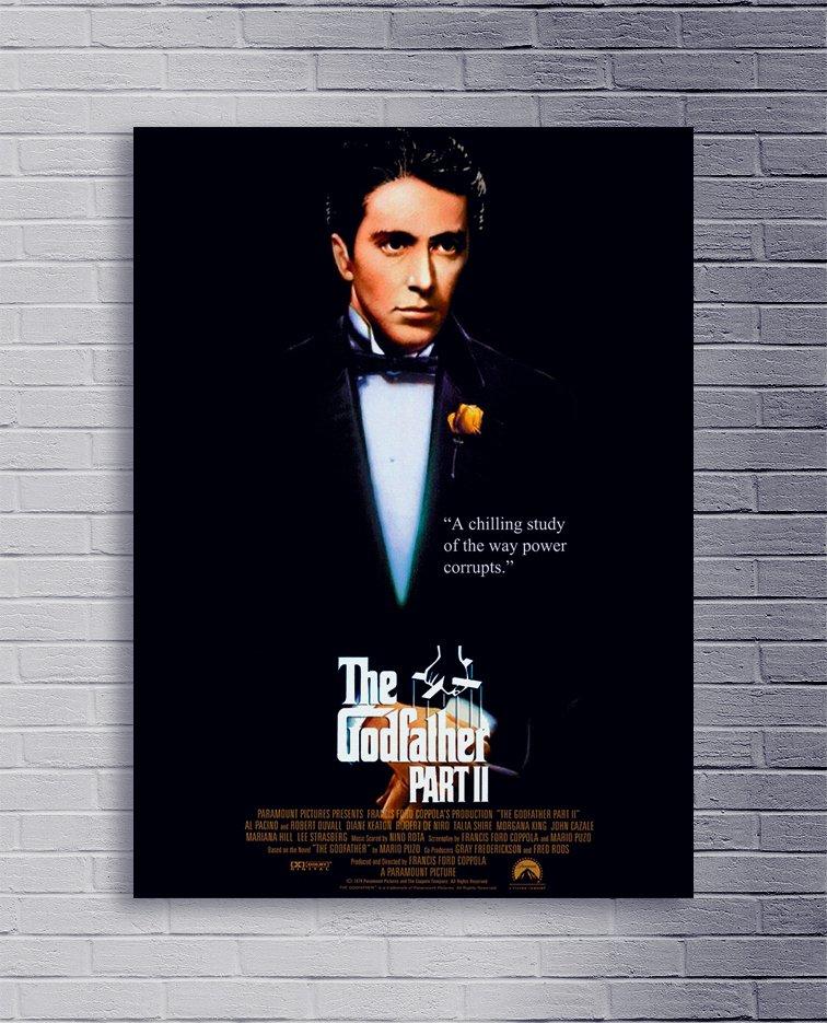 Cuadro El padrino 2 poster A - Comprar en Delorean Art