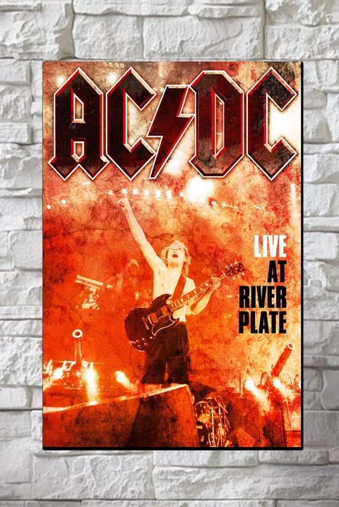 Cuadro AC DC Live at River Plate 2009 - comprar online
