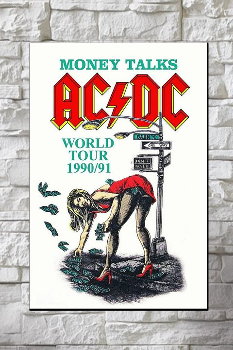 Cuadros - AC DC Money Talks - comprar online