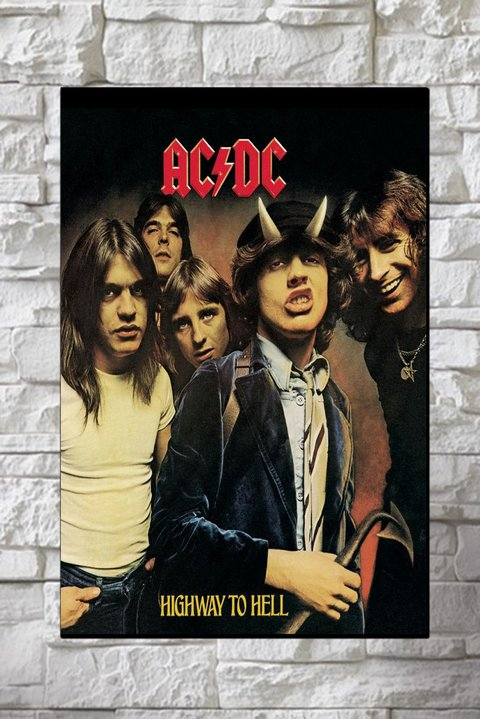 Cuadros - AC DC Highway to Hell - comprar online