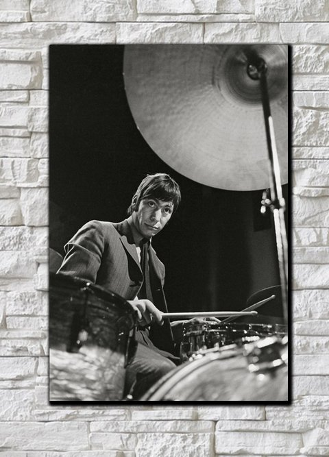 Cuadro The Rolling Stones Charlie Watts - comprar online
