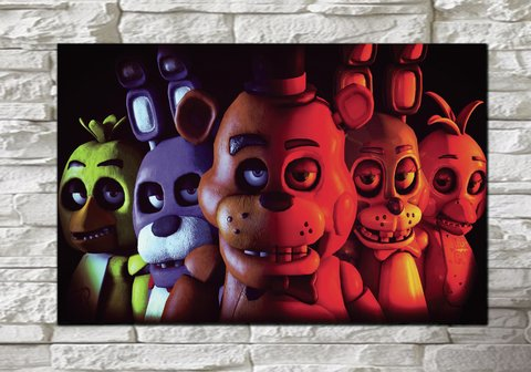 Cuadro Five Nights at Freddy's - comprar online